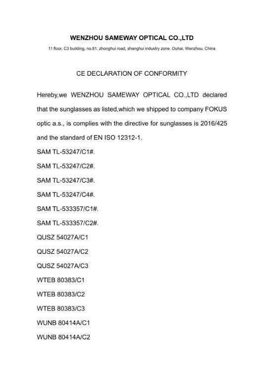 Declaration-of-Conformity-Sameway-Optical