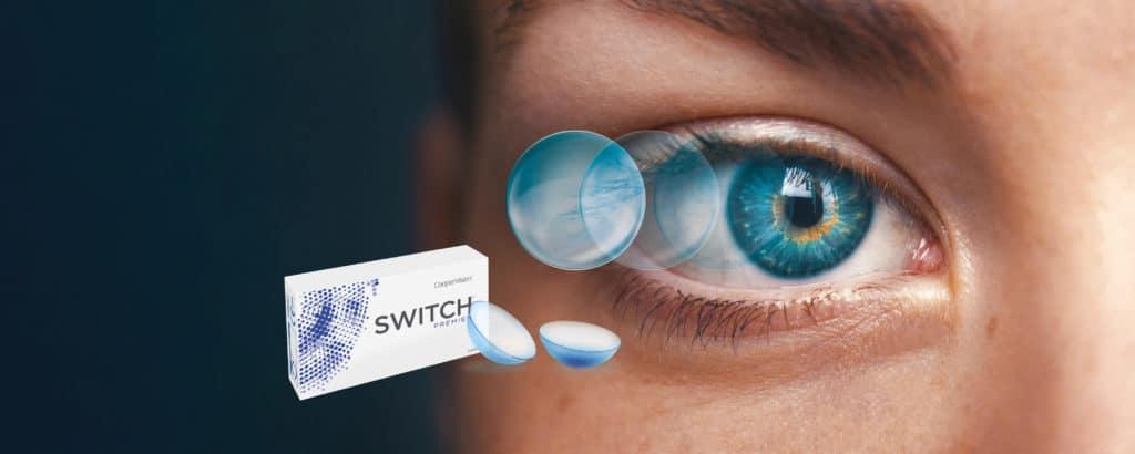 Kontaktní čočky Switch